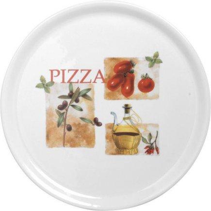 Talíř na pizzu 31 cm Rajčata olivy